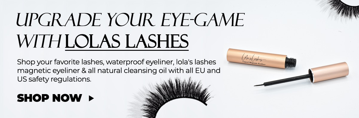 Lolas Lahes magnetic eyelashes