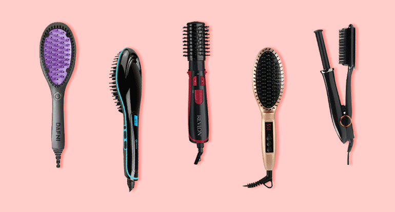 5 Best Hairbrush Straighteners for Styling