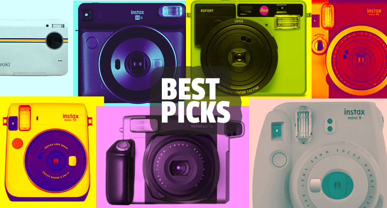Are You Planning To Travel With An Instant Camera? Here're the Best 8 Picks