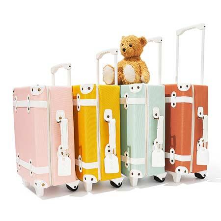 Olli Ella Kids Sized See Ya Suitcase