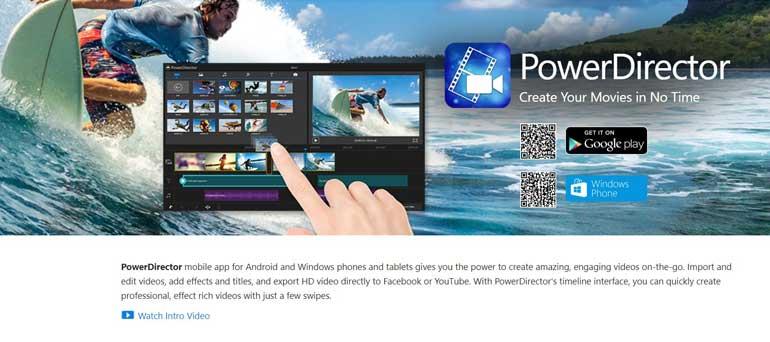 PowerDirector App