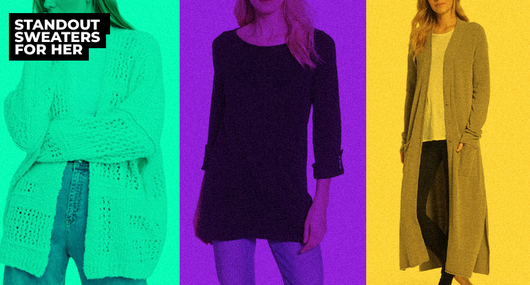9 Standout Sweaters for Her to Make Her Winter Bright