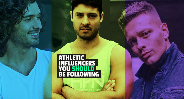 Top 5 Male Athletic Influencers You Should Be Following