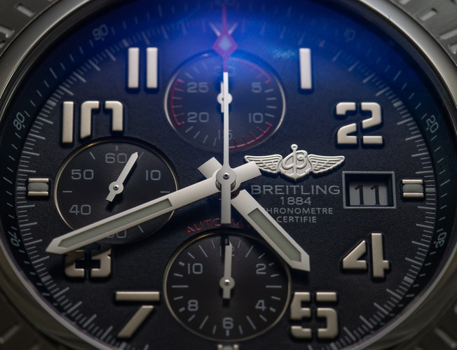 breitling chronometre watch