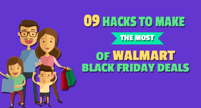 9 Hacks to Make the Most of Walmart Black Friday Deals [Infographic]
