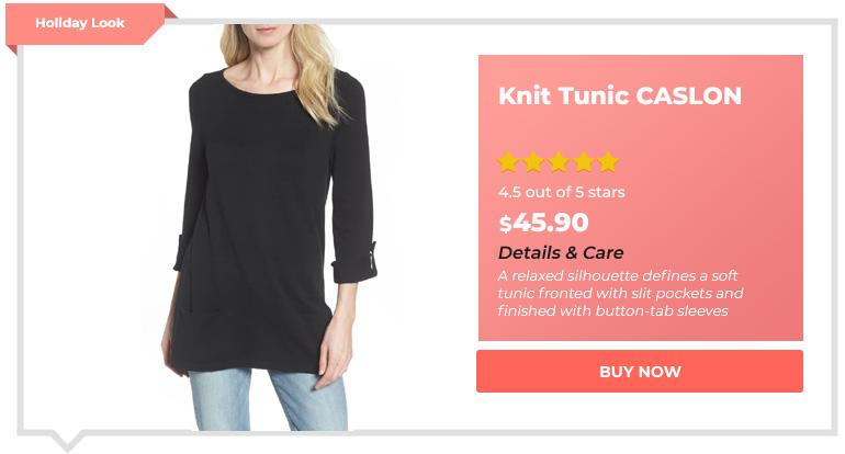 Knit Tunic CASLON