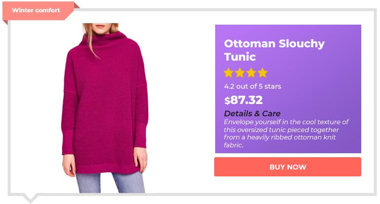 Ottoman Slouchy Tunic