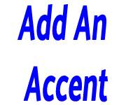 Add An Accent coupons