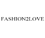 Fashion2love coupons