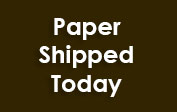 Paper Shipped Today coupons