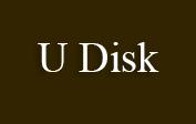 U Disk coupons