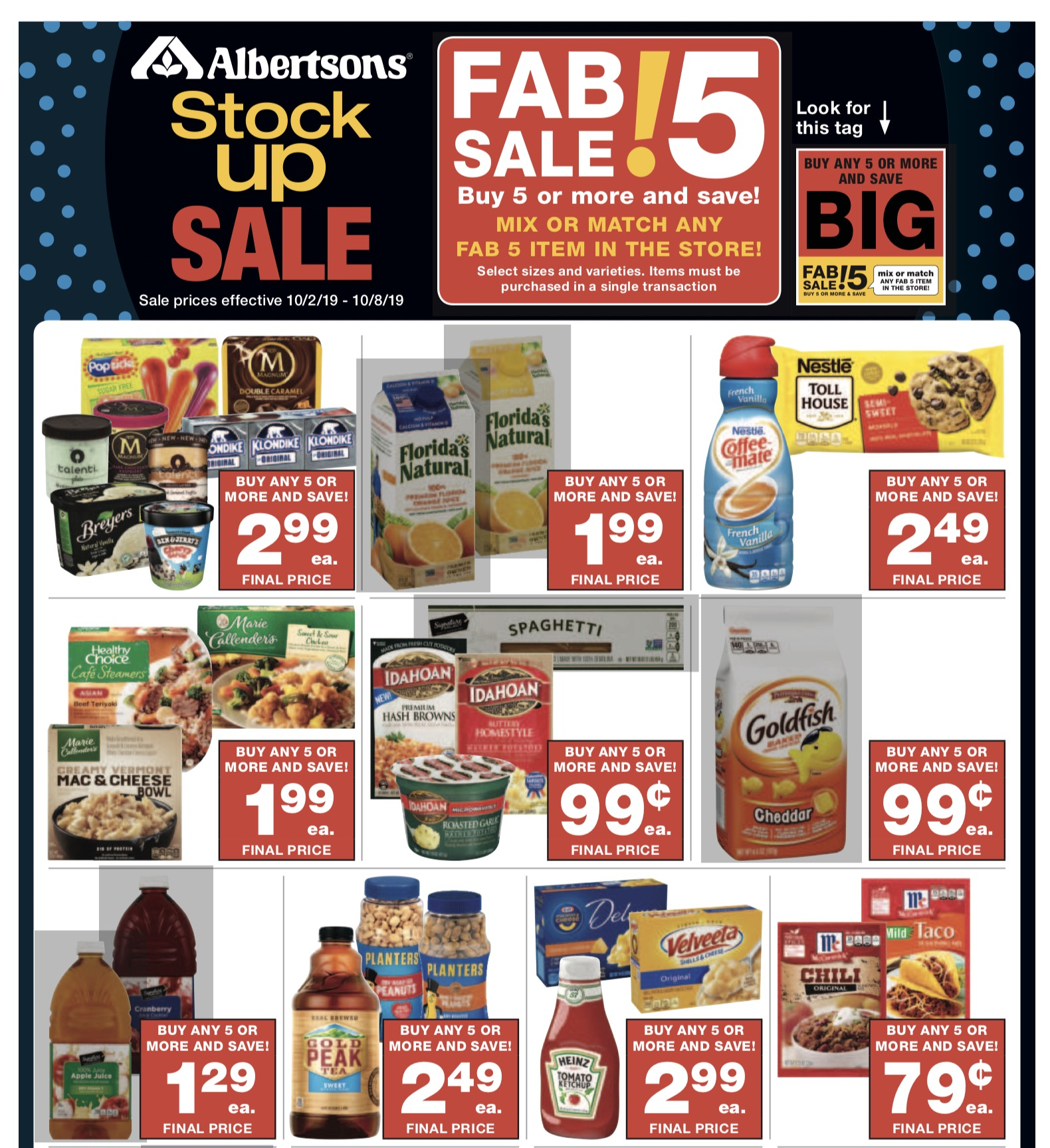 Albertsons Weekly Ad (10/2/19 - 10/8/19) Early Preview