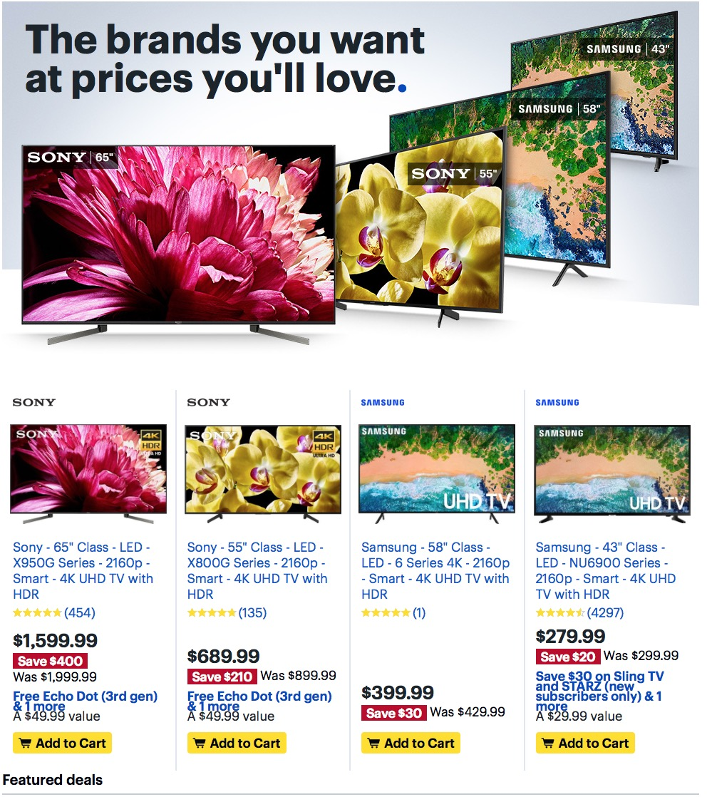 Best Buy Weekly Ad (9/29/19 - 10/5/19) Early Preview